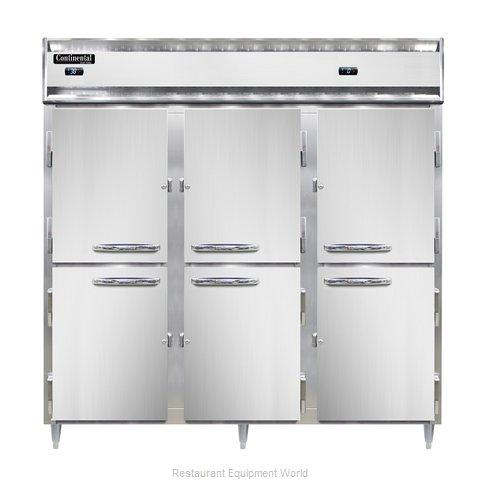 Continental Refrigerator DL3RRF-SA-PT-HD Refrigerator Freezer, Pass-Thru