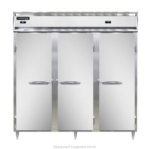 Continental Refrigerator DL3RRF-SA-PT Refrigerator Freezer, Pass-Thru