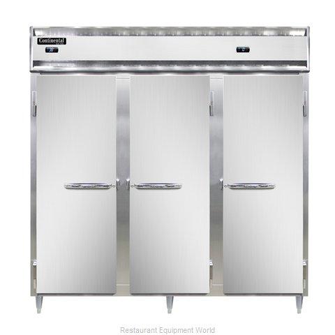 Continental Refrigerator DL3RRF-SA Refrigerator Freezer, Reach-In