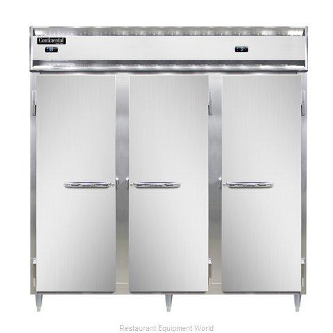 Continental Refrigerator DL3RRF-SS-PT Refrigerator Freezer, Pass-Thru