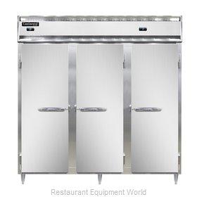 Continental Refrigerator DL3RRF-SS Refrigerator Freezer, Reach-In