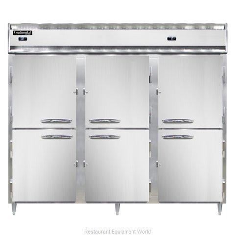 Continental Refrigerator DL3RRFE-HD Refrigerator Freezer, Reach-In