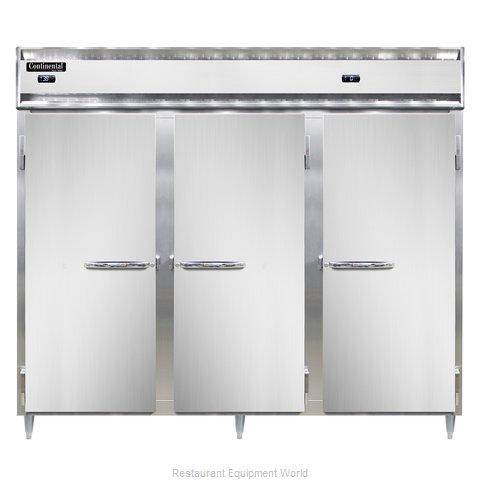 Continental Refrigerator DL3RRFE-SS-PT Refrigerator Freezer, Pass-Thru