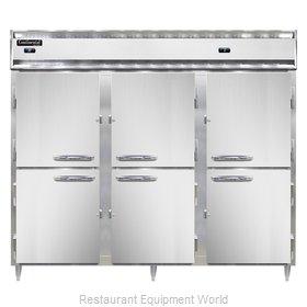 Continental Refrigerator DL3RRFES-HD Refrigerator Freezer, Reach-In