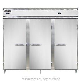 Continental Refrigerator DL3RRFES-SS Refrigerator Freezer, Reach-In