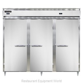 Continental Refrigerator DL3RRFES Refrigerator Freezer, Reach-In