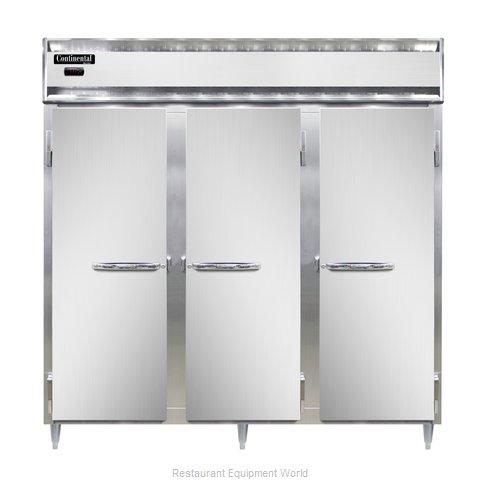 Continental Refrigerator DL3W-PT Heated Cabinet, Pass-Thru