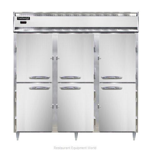Continental Refrigerator DL3W-SS-HD Heated Cabinet, Reach-In