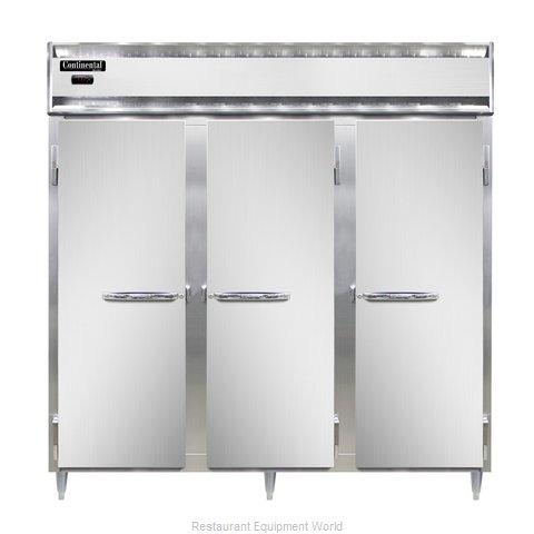 Continental Refrigerator DL3W-SS-PT Heated Cabinet, Pass-Thru