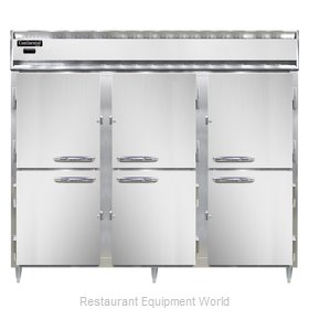 Continental Refrigerator DL3WE-HD Heated Cabinet, Reach-In