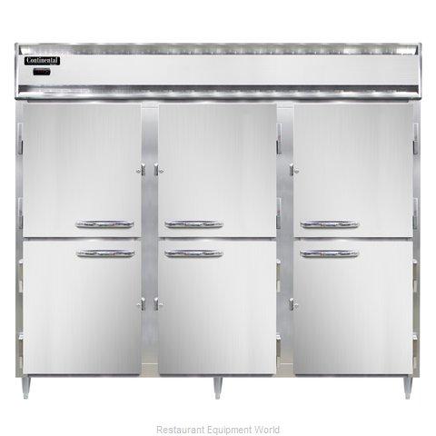 Continental Refrigerator DL3WE-PT-HD Heated Cabinet, Pass-Thru