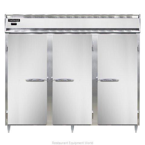 Continental Refrigerator DL3WE-SA-PT Heated Cabinet, Pass-Thru
