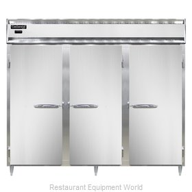 Continental Refrigerator DL3WE-SA Heated Cabinet, Reach-In