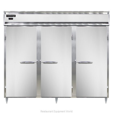 Continental Refrigerator DL3WE-SS-PT Heated Cabinet, Pass-Thru