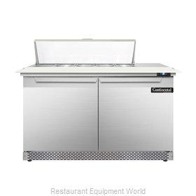 Continental Refrigerator DL48-10C-FB Refrigerated Counter, Sandwich / Salad Top