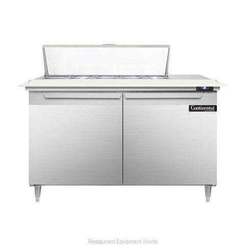 Continental Refrigerator DL48-10C Refrigerated Counter, Sandwich / Salad Top