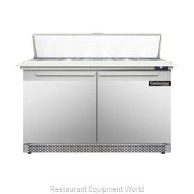 Continental Refrigerator DL48-12C-FB Refrigerated Counter, Sandwich / Salad Top