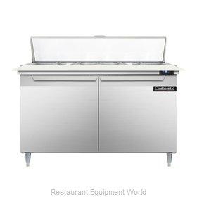 Continental Refrigerator DL48-12C Refrigerated Counter, Sandwich / Salad Top