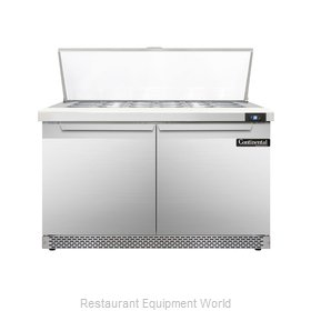 Continental Refrigerator DL48-18M-FB Refrigerated Counter, Mega Top Sandwich / S