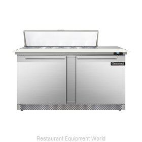 Continental Refrigerator DL60-12C-FB Refrigerated Counter, Sandwich / Salad Top