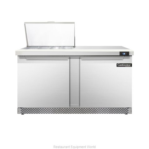 Continental Refrigerator DL60-12M-FB Refrigerated Counter, Mega Top Sandwich / S