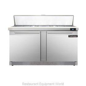 Continental Refrigerator DL60-16-FB Refrigerated Counter, Sandwich / Salad Top