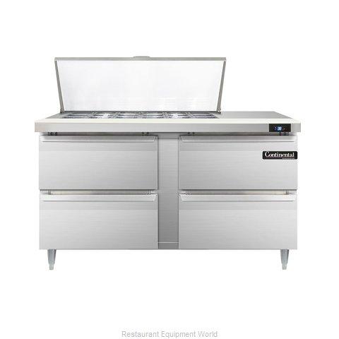 Continental Refrigerator DL60-18M-D Refrigerated Counter, Mega Top Sandwich / Sa