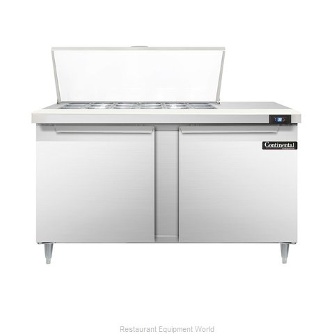 Continental Refrigerator DL60-18M Refrigerated Counter, Mega Top Sandwich / Sala