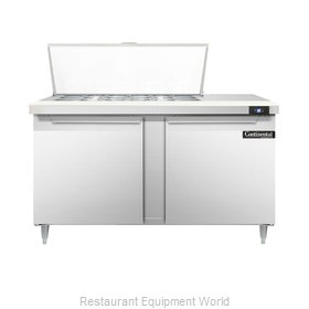 Continental Refrigerator DL60-18M Refrigerated Counter, Mega Top Sandwich / Sala