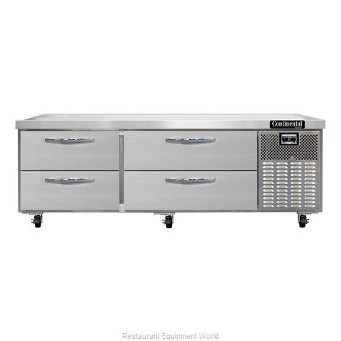 Continental Refrigerator DL72GF Equipment Stand, Freezer Base