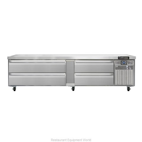 Continental Refrigerator DL96G Equipment Stand, Refrigerated Base
