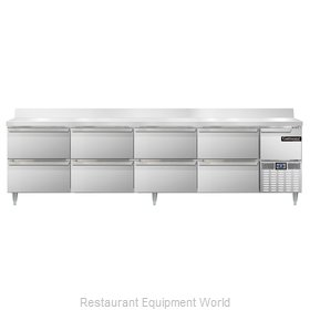 Continental Refrigerator DLRA118-SS-BS-D Refrigerated Counter, Work Top