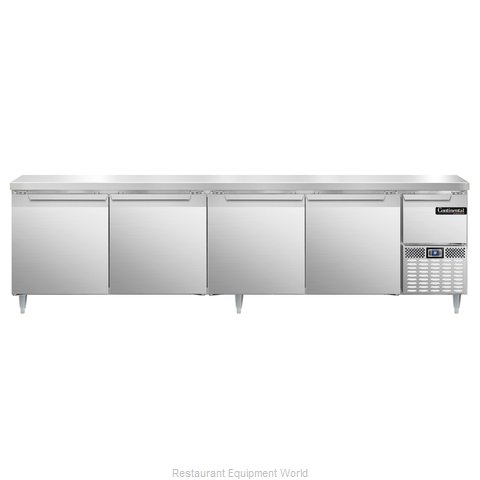 Continental Refrigerator DLRA118-SS Refrigerated Counter, Work Top