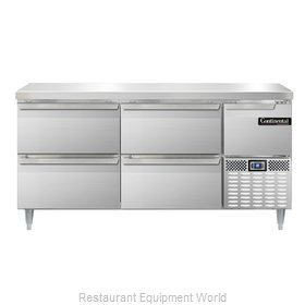 Continental Refrigerator DLRA68-SS-F Refrigerator, Fish / Poultry File