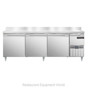 Continental Refrigerator DLRA93-SS-BS Refrigerated Counter, Work Top