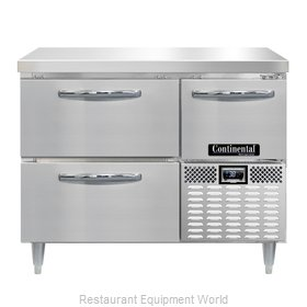 Continental Refrigerator DRA43NSS-F Refrigerator, Fish / Poultry