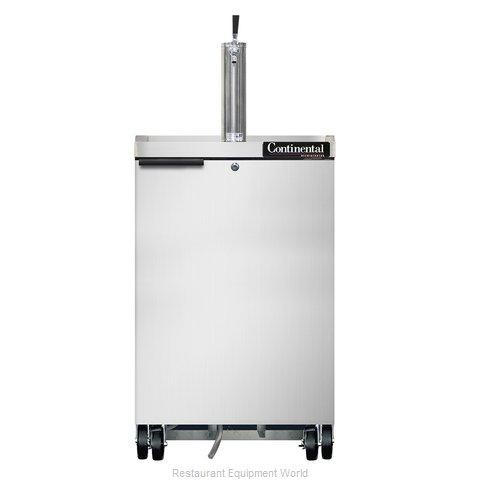 Continental Refrigerator KC24-SS Draft Beer Cooler