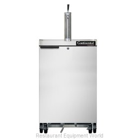 Continental Refrigerator KC24-SS Draft Beer Cooler