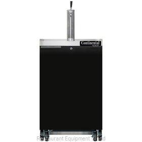 Continental Refrigerator KC24N Draft Beer Cooler