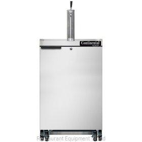 Continental Refrigerator KC24NSS Draft Beer Cooler