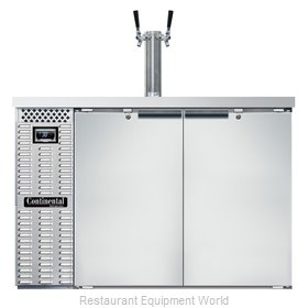Continental Refrigerator KC50NSS Draft Beer Cooler