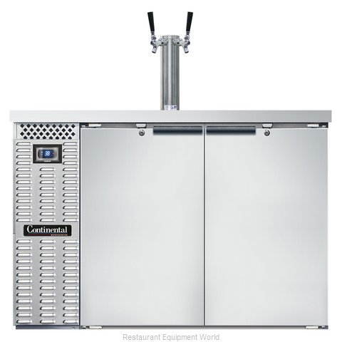 Continental Refrigerator KC50S-SS Draft Beer Cooler