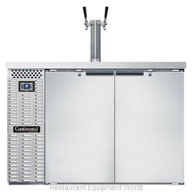 Continental Refrigerator KC50SNSS Draft Beer Cooler