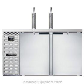 Continental Refrigerator KC59NSS Draft Beer Cooler