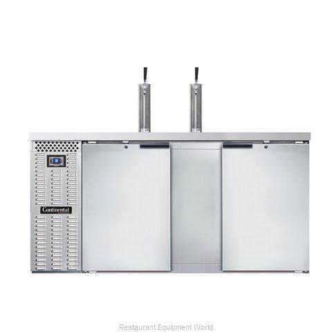 Continental Refrigerator KC69-SS Draft Beer Cooler