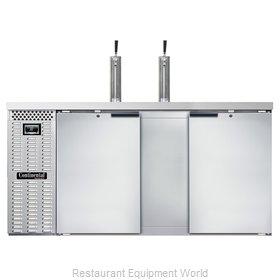 Continental Refrigerator KC69NSS Draft Beer Cooler