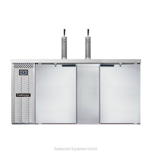 Continental Refrigerator KC69S-SS Draft Beer Cooler