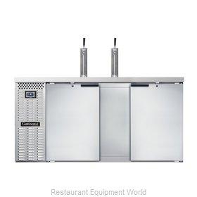 Continental Refrigerator KC69SNSS Draft Beer Cooler