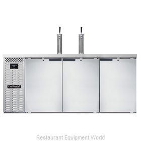 Continental Refrigerator KC79NSS Draft Beer Cooler