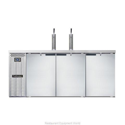 Continental Refrigerator KC79S-SS Draft Beer Cooler